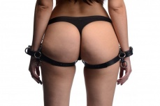 Strict - Frog Tie Restraints - Black photo