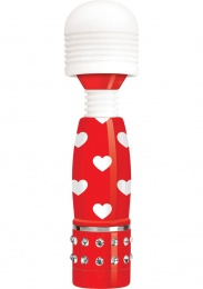 Bodywand - Mini Hearts Massagers -  Red/Wht photo