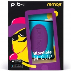 Picobong - Remoji Blowhole M-Cup - Blue