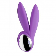 Inmi - Lapin 10X Silicone Rechargeable Massager - Purple photo