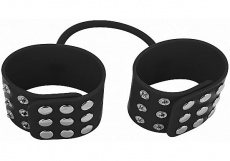 Shots - Silicone Cuffs - Black photo