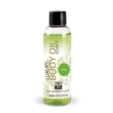 Shiatsu - Luxury Edible Body Oil - Lime 100ml photo