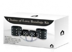 Roomfun - Chains of Love Bondage Kit With Wrist & Ankle Cuff photo