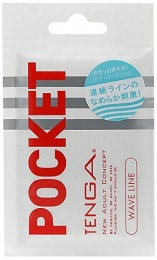 Tenga - Pocket Wave Line - White photo