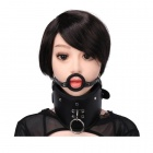 MT - Collar with Open Mouth Gag