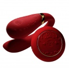 Zalo - Fanfan Set Couple Vibrator - Bright Red