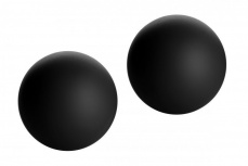 GreyGasms - Marquis Velvety Black Benwa Balls - Black photo