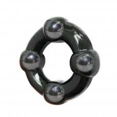 A-One - Dragon Wheel Cock Ring - Black photo