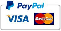 Credit cards (via PayPal)